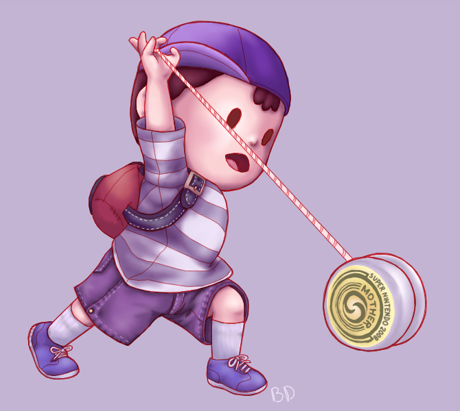 I love this piece Brian did of Ness…
