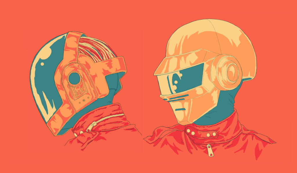 """Daft Punk"" by Brian Danger"