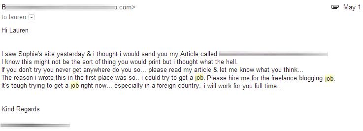 JobBegging
