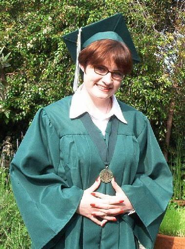 My high school graduation photo.