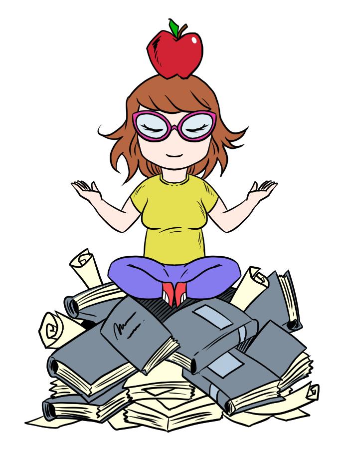 meditating editor